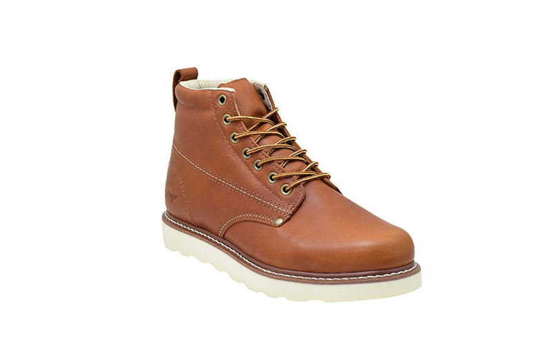 Golden-Fox-Men's-Plain-Toe-Work-Boots
